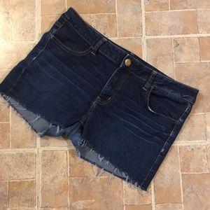 American Eagle jean shorts size women's 14